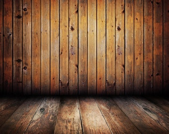 PHOTOGRAPHY BACKDROP Background wood floor wall 5X7 FT ( 150CM X 200CM )