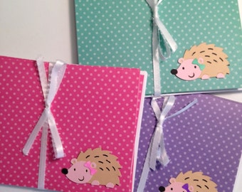Hedgehog Notecard Sets