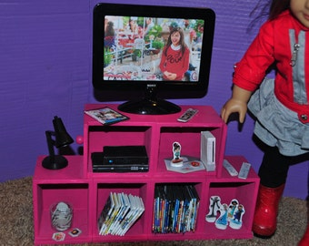 American Girl Doll inspired 18 inch Doll Wii Game System and Infinity