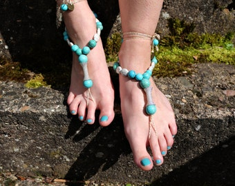 """Barefoot sandals """"Heavy and Strong"""""""