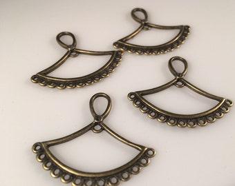 Chandelier earring component