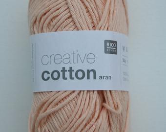 Rico Creative Cotton Aran Powder 061