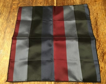 Vintage Striped Pocket square