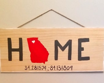 Home Sign (with coordinates)