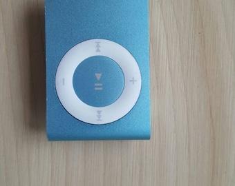 1 GB Ipod shuffle light blue 4th generation
