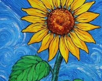 Sunflower Art Paper