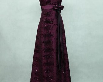 Purple Ball Gown, Prom Dress, Evening Dress, Party Dress, Long Purple Dress, Bridesmaid Dress, Vintage Style Gown, Formal Dress, Party Dress
