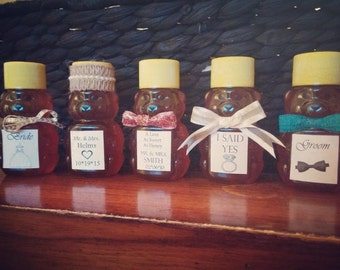 200 2oz. Honey Bear Wedding Favors