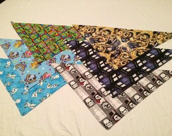 Fursuit bandanas - Various licensed characters