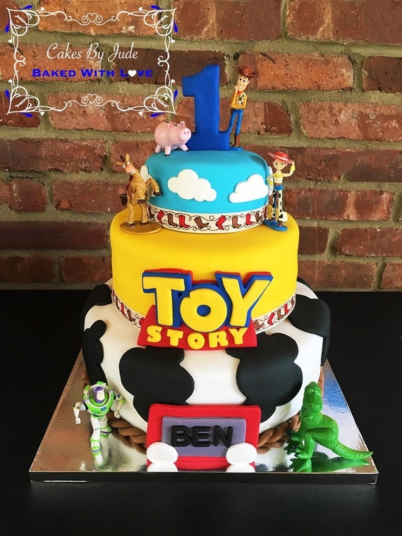 Edible Fondant Toy Story Cake Topper Decorations: Logo