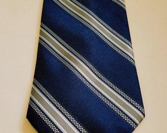 Stripe Blue Necktie