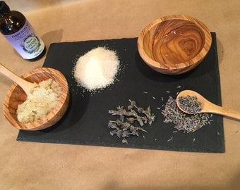 Organic Sugar Scrub with Lavender