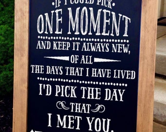 Rustic Wedding Signs - Wedding Sign - Wedding Chalkboard Sign - Wedding Welcome Sign - Barn Wedding - Wedding Signs - Wedding Chalkboard