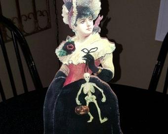 halloween vintage halloween witch halloween victorian girl