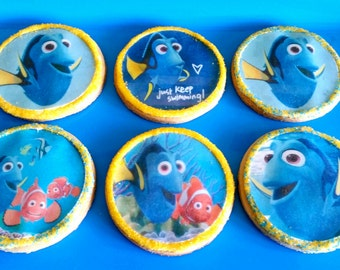 Finding Dory Party Favors, Dory Cookies Party Favors, Finding DORY Party, Dory Cookies Edible Images, DORY Party Favors, DORY Party .