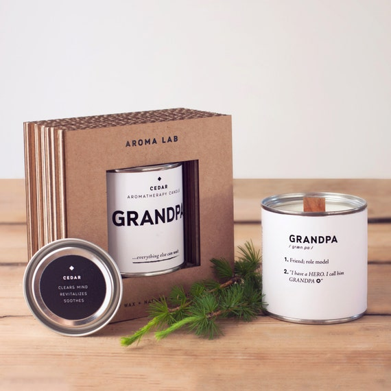 Grandpa candle
