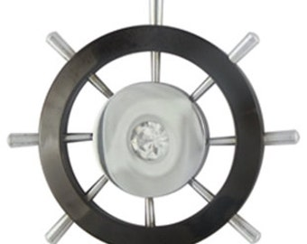 Large ship wheel (STAINLESS STEEL)