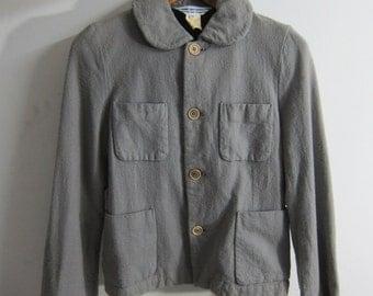 Comme Des Garcons Comme Des Garcons  4 Pockets Jacket Wool Light Grey