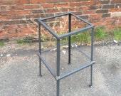 Square Barstool, Steel Barstool frame, Bar stool frames, stool frame, steel frame