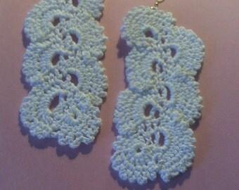 Crochet Cascade Earring's