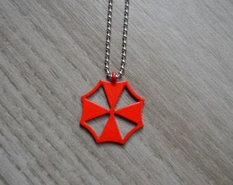 SALE! Umbrella Corporation - Resident Evil - Necklace Pendant