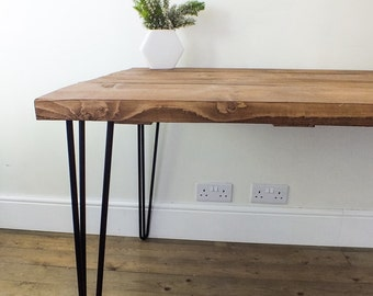 Hairpin Leg Dining Table / Desk