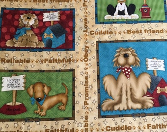 Pet Rescue Fabric