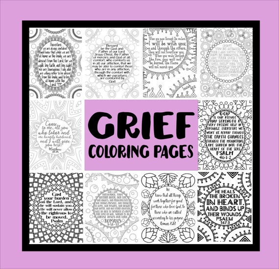 coloring pages on grief - photo#4