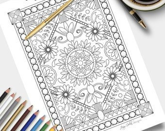 Printable Colouring Page Palace