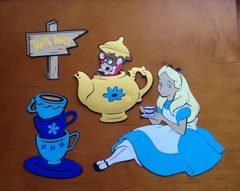 Dormouse and Alice in Wonderland Tea Party Decorations