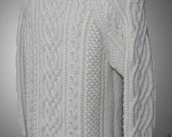 "Aran sweater for man ""Brеanainn"""