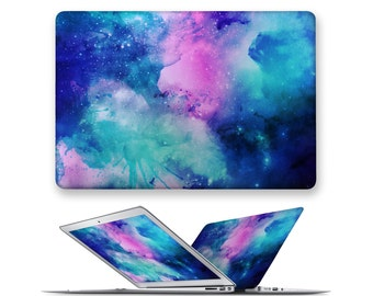 macbook pro case rubberized front hard cover for apple mac macbook air pro 11 12 13 15 galaxy universe