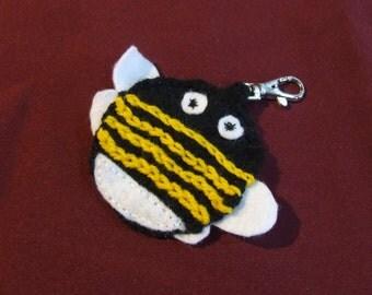 Bumble Bee keyring // charm