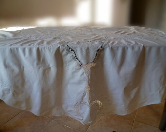 Round tablecloth do fine cotton