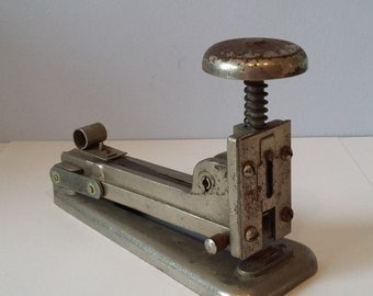 Vintage Stapler for the Office, Factory, Home - probably 1930 or 1940s