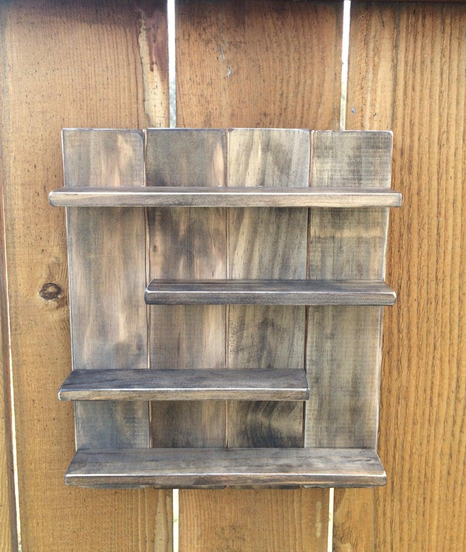 essential oil wood shelf in dark walnut young living or. Black Bedroom Furniture Sets. Home Design Ideas
