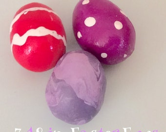 3 18 in. Sized Easter Eggs