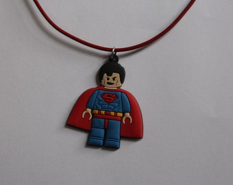Superman Boys Necklace