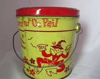 Wizard of Oz Peanut Butter Pail