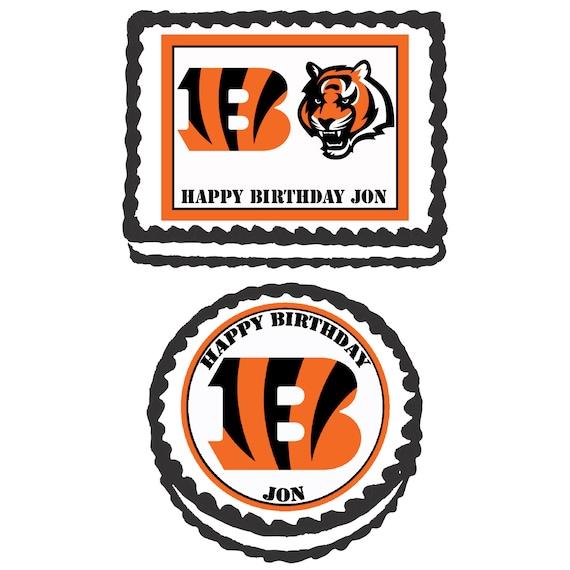 Cincinnati Bengals Birthday Cake