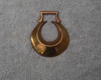 Crescent Horse Brass - Vintage Horse Brass