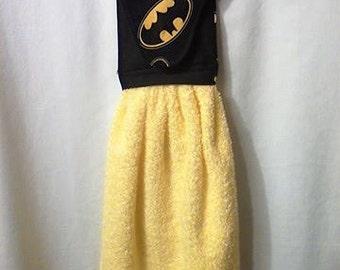 Batman hand towel (yellow)