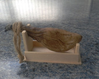 Miniature Ham. Handmade