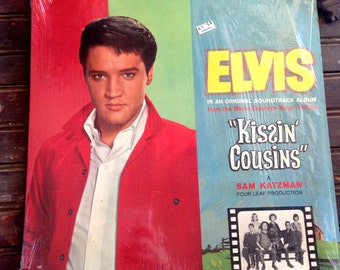 Elvis Presley in Kissin' Cousins   Vinyl Record 1964 Album    Kissin Cousins Soundtrak   Elvis Presley Record