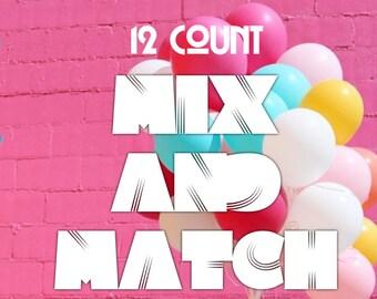 12 pack Badass Balloon Co. Party & Birthday Balloons. Badass Balloons. Adult Party Favor and Party Supplies.
