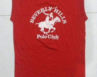 Vintage Beverly Hills Polo Sleeveless