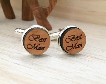 Cuff Links- Best Man-Wedding Accesories-Groom-Hipster