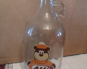 Half Gallon AW Glass Jug, (# 108/8)