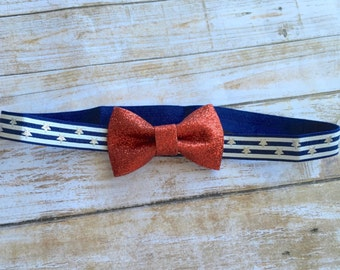 Red 4th of July Bow Headband/Patriotic Bow Headband/Baby Headband/Infant Headband/Newborn Headband/Patriotic Headband/Bow Headband/Red Bow