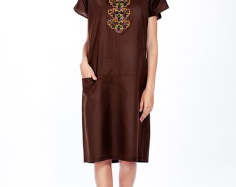 Raw chocolate dress